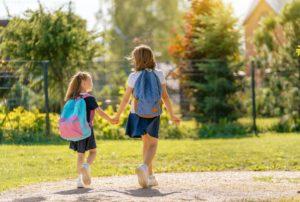 Schuleinführung ohne Papa